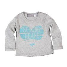 Niña Camiseta de manga larga bebé Heart Gris von boboli talla 62 68 74 80 86 92