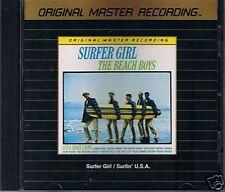 Beach Boys surfer Girl/surfin 'usa MFSL Gold CD Japon E