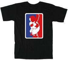 "RBI Baseball NES Nintendo ""MLB LOGO"" T-shirt  S-XXXXXL"