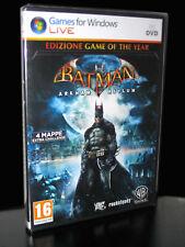 BATMAN ARKHAM ASYLUM EDIZIONE GAME OF THE YEAR GIOCO NUOVO PC ED ITA PCC021591