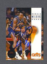 Gerald Wilkins signed 1993-94 Sky Box basketball card