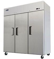 Atosa MBF8006, Top Mount 3-Door Refrigerator