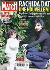 Paris Match magazine Rachida Dati Naomi Watts Suede Chernobyl Gallienne Prevert