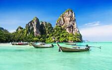 PHUKET THAILAND SKYLINE GLOSSY POSTER PICTURE PHOTO PRINT island beach view 3730