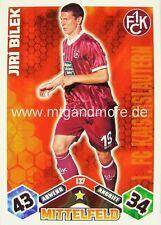 Match Attax  Jiri Bilek #137  10/11