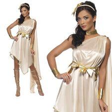 Ladies Greek Goddess Fancy Dress Costume Roman Toga Grecian Womens New