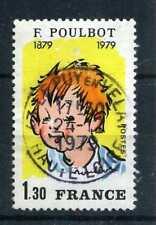 FRANCE - 1979, timbre 2038, F. Poulbot, oblitéré
