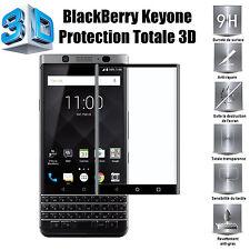 Blackberry - Vitre protection ecran TOTALE AVEC BORDS INCURVES Tempered Glass