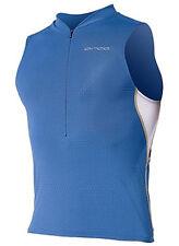 ORCA 226 Tri Pocket Men's Singlet, Blue, NEW! Reg $110