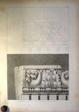 c1800 Ornament Architektur Antike Kyma Cymatium Gesims Cornice Nervaforum Lg