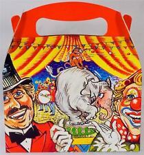 'Circus'S A Tema Per Bambini Festa Di Compleanno Porta Pranzo Cibo Regalo (Da 35p)