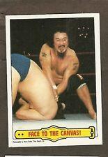 1985 Topps WWF #43 Mr. Fuji EX/MT