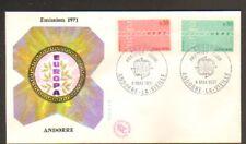 EUROPA / ANDORRE / PREMIER JOUR 1971