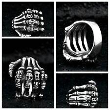 Men Biker Hip Hop Vintage Punk Rings Gothic Skull Rings