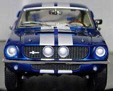 1967 Mustang Cobra Ford Built 1 GT 18  Sport Car 24 Vintage 40 Carousel Blue 12