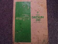 1982 Datsun Nissan 310 Service Repair Shop Manual FACTORY OEM BOOK OIL DAMAGED