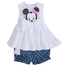 0adba2cb5 Disney Store Minnie Mouse Layette Bloomer Conjunto para Bebés dimensional  Orejas Y Arco