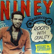 NINEY THE OBSERVER - ROOTS WITH QUALITY-REGGAE ANTHOLOGY 2 VINYL LP NEU
