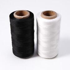 Bobine de fil plat ciré 260M pour cuir maroquinerie couture artisanat
