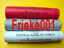 Cyprus - Chypre - 1,2 en 5 cent rol 2009.