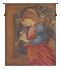Flageolet Angel European Tapestry Wall Hanging