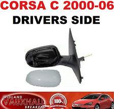 Vauxhall Corsa C 2000-2006 MANUALE Cavo moto retrovisori RH nuovi driver laterali