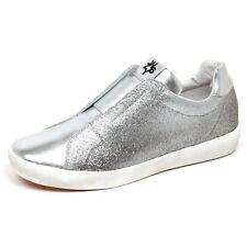 F5330 sneaker bimba girl W6YZ WIZZ SUN slip on eco leather/glitter vintage shoe