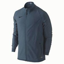 NIKE Revolution Sideline Stretch Wove Squadron Blue F/Z Soccer Jacket NEW Mens L