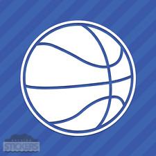 Basketball Vinyl Decal Sticker