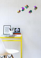 Turner Tile RD80000 Anaglypta Luxury Vinyl Wallpaper Multiple Rolls