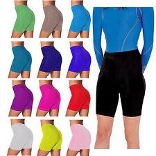 Mujeres bailando Gimnasio Correr De Algodón Pantalones Cortos Para Ciclismo Leggings Pantalones de cultivos activewear