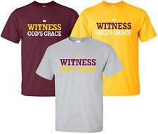 """""""Witness God's Grace"""" T-Shirt christian faith gospel jesus christ good news love"""