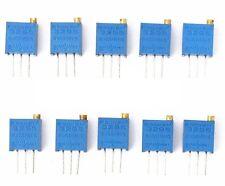 5 PCS 3296W 3296 Trimpot Trimmer Potentiometer Variable Resistors 50ohm to 2Mohm