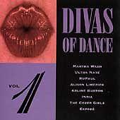 DIVAS OF DANCE VOL 1 - RUPAUL; ULTRA NATE; EXPOSE; ALISON LIMERICK; MARTHA WASH;