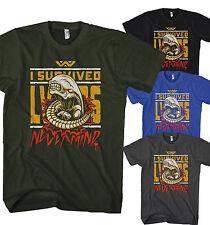 Herren T-Shirt I survived Alien Weyland Yu Xenomorph Film Neu S-5XL AS10217