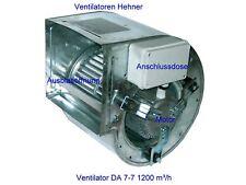 Ventilador Motor Ventilación para Campana extractora y Clima 1700m3/h