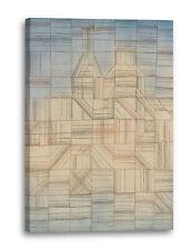 Lein-Wand-Bild Kunstdruck: Paul Klee - Variationen (Progressives Motiv) (1927)