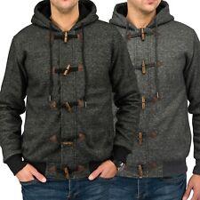 Hombres chaqueta con capucha, con cremallera CENK cálido forro con capucha