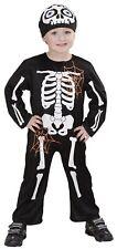 Costume Scheletro Halloween Da Bambino Travestimento Ossa PS 25606
