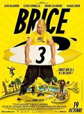 BRICE DE NICE 3 Affiche Cinéma / Movie Poster JEAN DUJARDIN