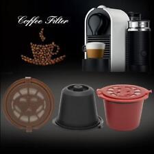 Wiederverwendbare Nachfüll Kaffeekapsel Filterhülle aus Edelstahl für Nespresso