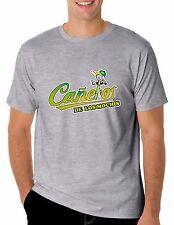 Baseball Cañeros de Los Mochis T-Shirt for Men's Color Gray 100% Cotton