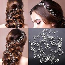 Collier de Fleur Perle Bandeau Mariage Mariée Accessoires Cheveux Tête Pièces FR