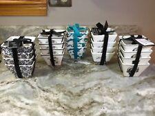 Ciroa Square Dessert Bowls. Set Of 4. You Choose. New.