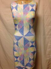 f7b567a05a758 Mara Hoffman Modal Cutout Dress Cover Up L White Multi NWT