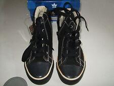 Lico Neville High Sneaker Freizeitschuh Schwarz  31, 33,  Echt Leder Neu