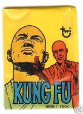 1973 Topps Kungfu TV Unopened pack Carradine Non Sport