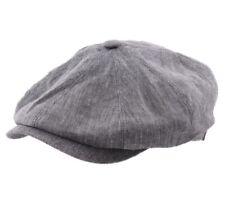 Béret - casquette plate homme ou femme Hatteras Linen - 31-gris