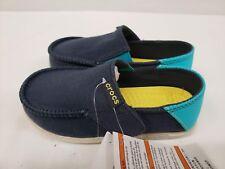 640c9b23a832e New Crocs Kids Santa Cruz Slip on Loafers