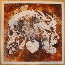 2011 On My Shield - Silkscreen Art Print by Jacob Bannon s/n poster